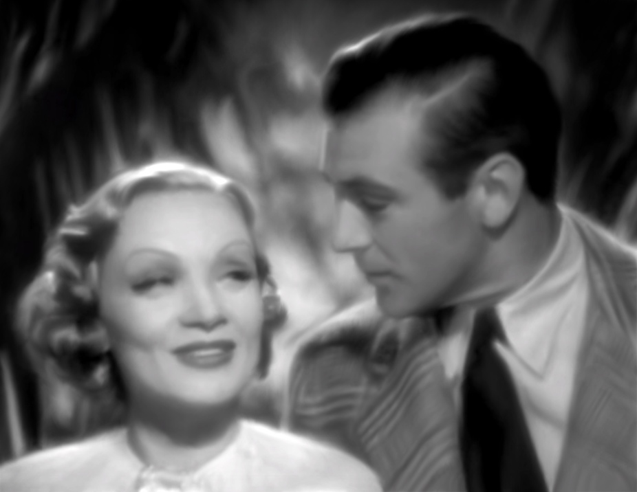 DSL001 Still Life with Marlene Dietrich, Gary Cooper and Palm Leaves